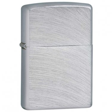 Lighters / Zippo Lighter Brushed Chrome Finish - 24647 - FREE SHIPPING!