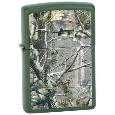 (cigarette lighter, zippo lighter) Zippo® Matte Green Finish Lighter - 28079 - FREE SHIPPING!