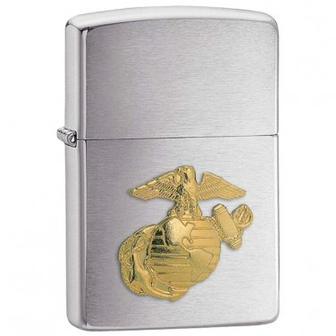 lighters / Zippo® Marines Emblem Lighter  - 280MAR - FREE SHIPPING!