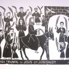"""Jesus Triumphal Entry into Jerusalem""- 26x19"""