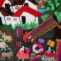 "Peruvian Wall Hanging - Weaving - Cuadro - ""Telar"" 17"" X19"""