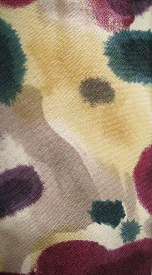 Pierre Cardin abstract patterned silk man's necktie