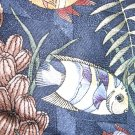 Tango by Max Raab silk tie tropical fish pattern