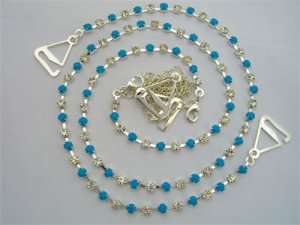 Turquoise and Diamonds Set