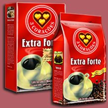 Cafe do Brasil (Brasilian coffee), vaccuum package