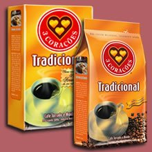 code do Brasil (Brasilian coffee), vacuum package, maxi