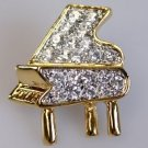 Classy Piano Brooch
