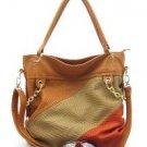 Apricot Hobo Handbag