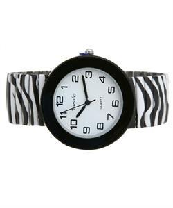 Zebra Stretch Fashion Watch