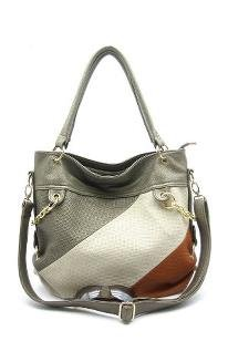 Silver Hobo Bag