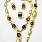 Brown Jewel African 4 Set