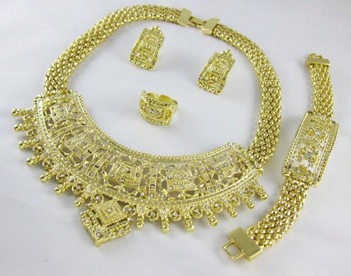 Ornate  African Jewelry 4 Set