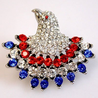 American Eagle Brooch