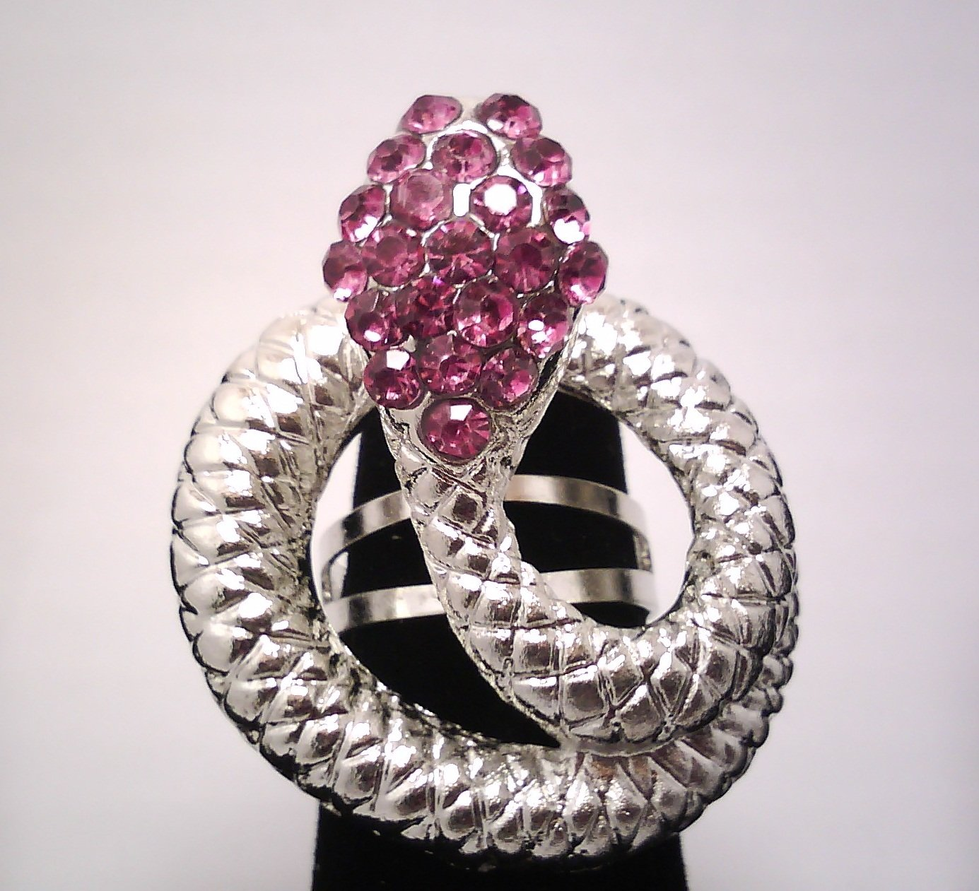 Purple Fashion Snake Ring