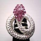 Purple Fashion Snake Ring