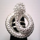 Clear Snake Fashion Ring