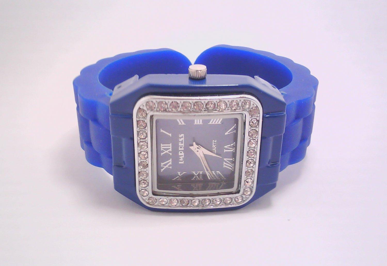 Blue Lady's Fashion Analog Watch