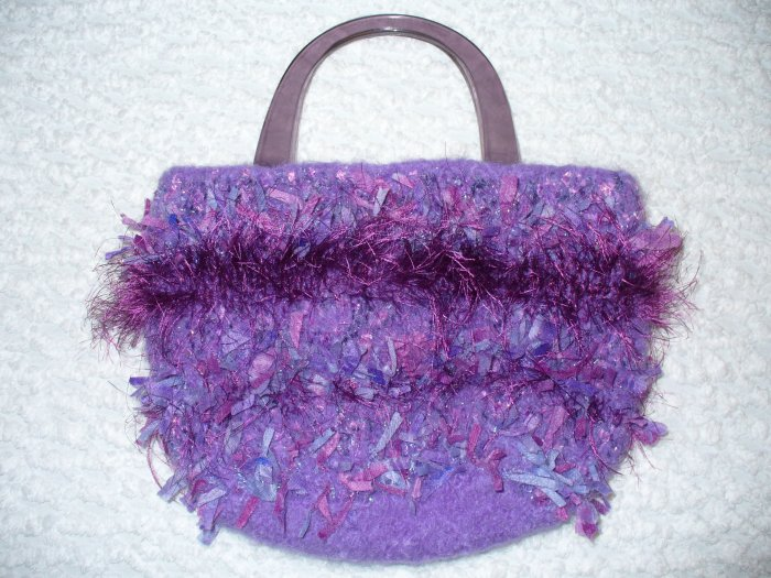 I Love Purple Purse