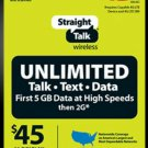 Straight Talk $45 30 day plan no tax