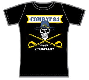 Combat 84 - Charge of the 7th Cavalry - T-shirt (Woman)