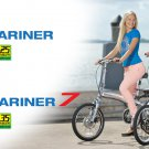 | Free Shipping | 2013 Folding Prodeco Tecnologies Mariner 7 8 Speed Electric Bike, eBike