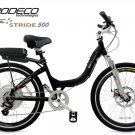 | Free Shipping | Prodeco Technologies 2013 Folding Black Stride 500 Electric Bicycle eBike