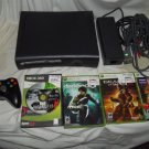 Xbox 360 Elite 512mb Jasper System 5 Game LOT Deadrising HDMI 150W