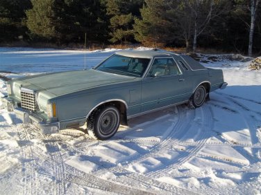 1978 Ford Thunderbird Diamond Jubilee Edition Car For Sale Blue Coupe 302 FMX