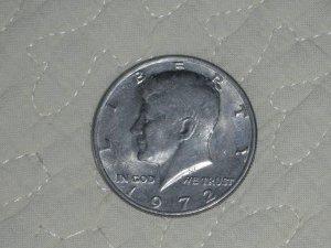 1972 HALF DOLLAR