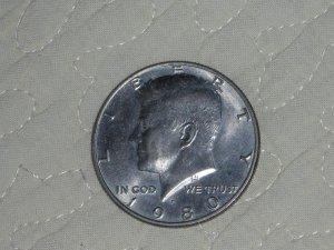 1980 HALF DOLLAR