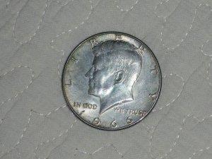 1966 HALF DOLLAR