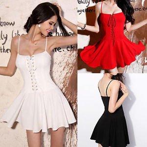 2015 Sexy Women Summer Casual Sleeveless Party Evening Cocktail Short Mini Dress