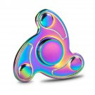Rainbow Colorful EDC Hand Spinner Tri Fidget Focus Desk Toys Anti Stress Gyro