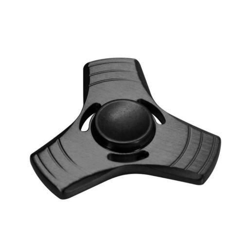 Aluminum Hand Spinner Tri Fidget Ceramic Bearing Desk Focus Toy EDC Finger Gyro