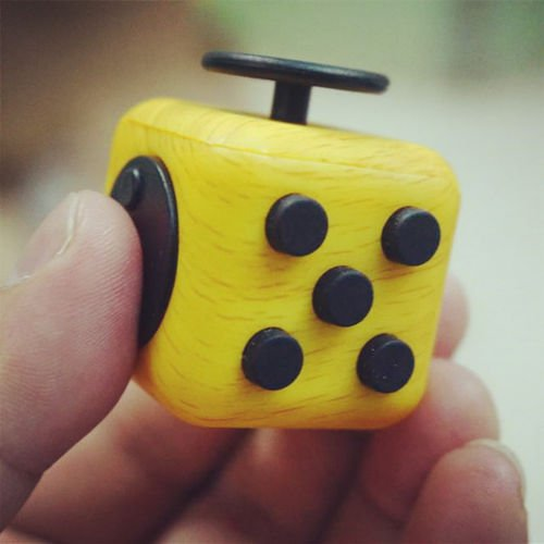 Fidget Cube Anxiety Stress Relief Focus Gift Adults Kids Attention Training toy