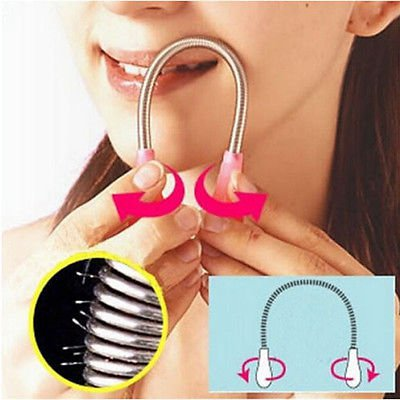Face Facial Hair Remover Spring Threader Removal Epilator Stick Beauty Nice Tool