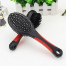 Dual Dog Cat Pet Grooming Cleaning Brush Massage Glove Bath Hair Removal Comb