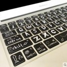 Novelty Fashion Macbook Air Pro Vinyl Sticker Decal keyboard Button Sticker 13''