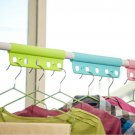Creative Woody Hanger Hanging Multi-functional Closet Space Clothes Device Saver