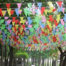Birthday Wedding Party Flags MultiColor Pennant Bunting Banner Festival Decor