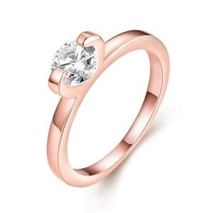 Claw Wedding Rings Bridal Crystal Rhinestone Band Statement Engagement Jewelry