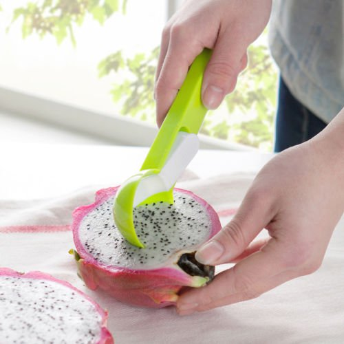 New Fruit Melon Scoop Baller Watermelon Ice Cream Spoon dig Ball Tool