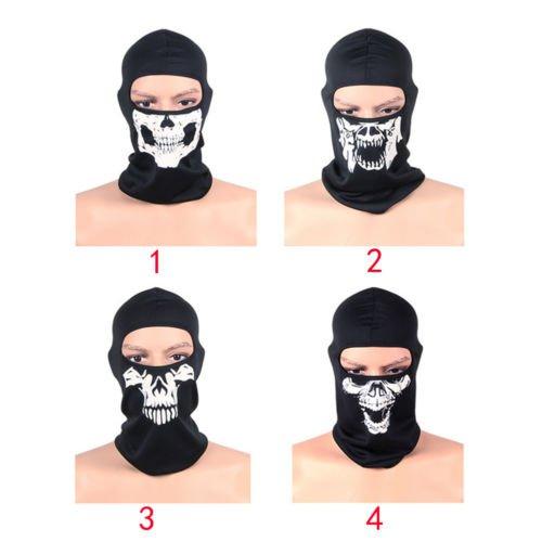 Call of Duty 10 Ghost Skull Face Mask Cosplay Balaclava Skateboard Bike Hood NEW