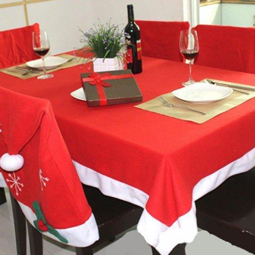 Cotton Linen Tableware Print Check Grid Tablecloth Cover Table Deco Home Decor