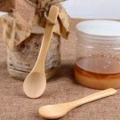 New Basic Long Spoons Wooden Flatware Coffee Tea Soup Serving Kitchen Spoon