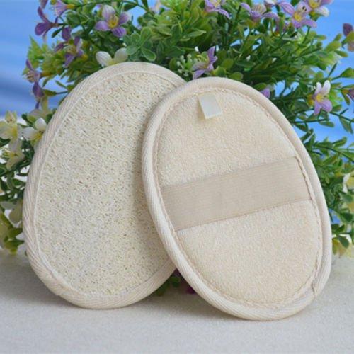 New Shower Exfoliating Wash Skin Spa Bath Gloves Massage Loofah Scrubber