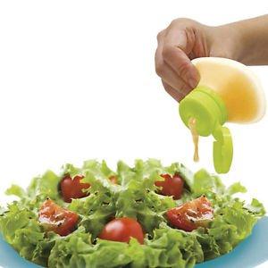 Kitchen Silicone Sauce Jam Squeeze Bottle  Dispenser Salad  Ketchup  Mustard