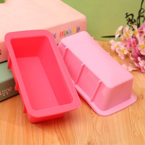 Non-stick Carbon Steel Baking Cake Mold Rectangle Bread Toast Mould Loaf Pans
