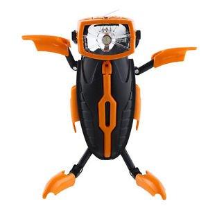 Novelty Deformable Transformer Robot LED Flashlight Torch Lamp Light Nightlight