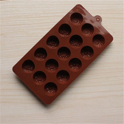 Multi Buttons Shape Silicone Mould Baking Bakeware Chocolate Cupcake Cake Mold